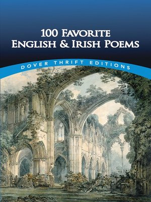 cover image of 100 Favorite English and Irish Poems